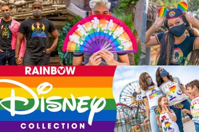 Get Ready For Pride Month With Rainbow Gear From Disney