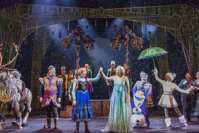 Enjoy Musical Merriment With Disney Cruise Line's 'Frozen, A Musical Spectacular'