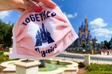 Masks No Longer Needed Outdoors At Walt Disney World