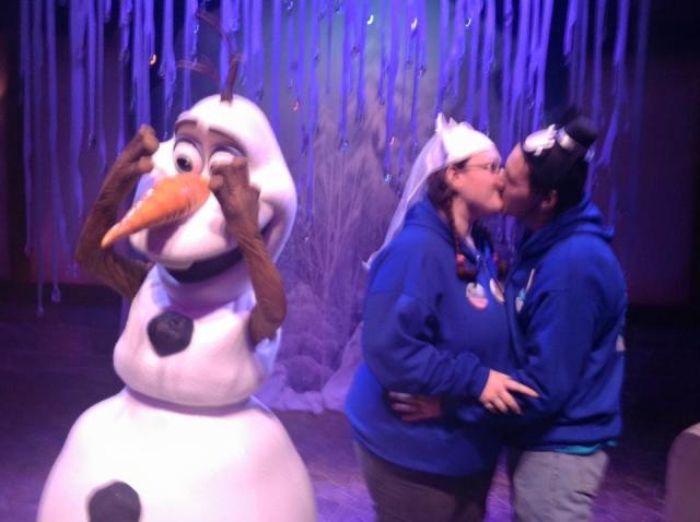 Embarrassing Olaf