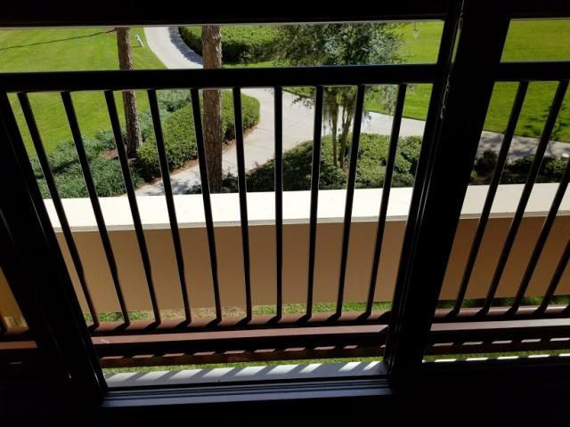 no balcony