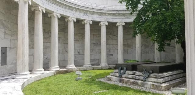 inside shot of the memorial