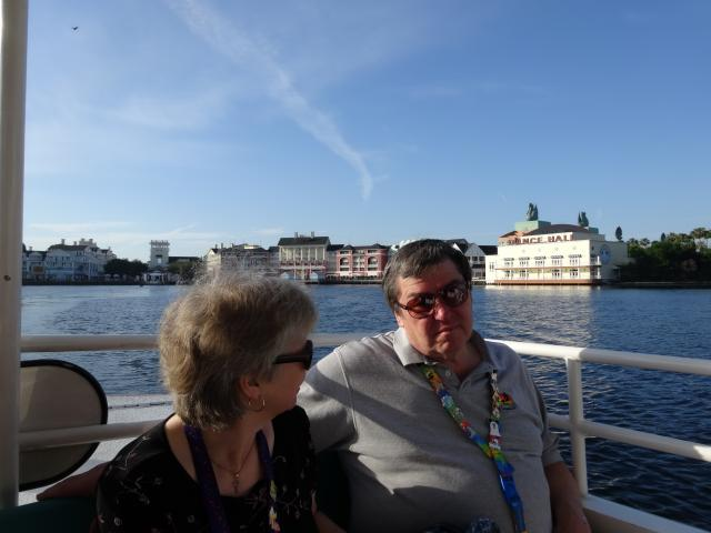 Mom & dad on the boat