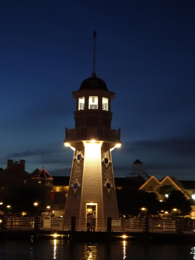 Photographic evidence of the functioning lighthouse