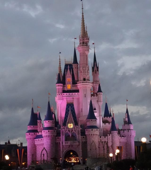 Overcast castle