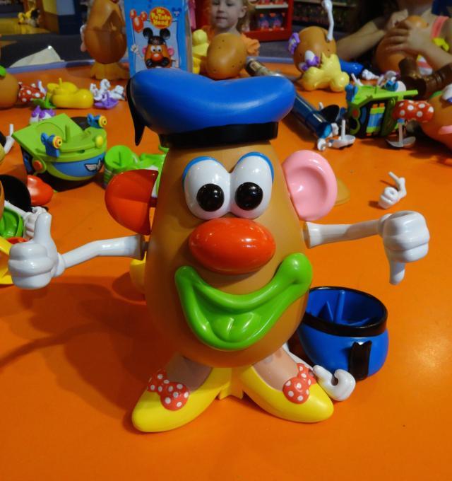 Potato Head, you're drunk