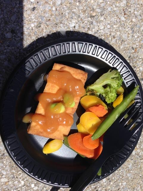 Tofu & veggies from Japan