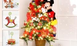 2012 Christmas Trees from Disney's Enchanted Florist