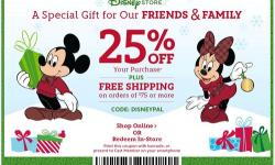 Disney Store's Friends and Family Sale Begins Today