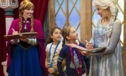 Anna and Elsa to Meet Guests at Princess Fairytale Hall Beginning April 20