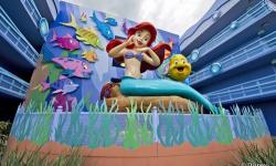 The Little Mermaid Wing Opens Completing Disney's Art of Animation Resort
