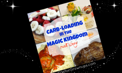 Get Ready To runDisney: Carb-loading In The Magic Kingdom
