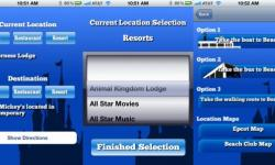 Buses, Boats, and Monorails: Disney Transportation iPhone Application