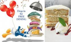 Walt Disney World's Free Dining Offer Is Back For 2018