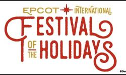 The Epcot International Festival of Holidays Begins November 19