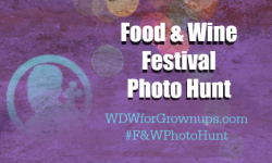 Food & Wine Festival Photo Hunt from Walt Disney World for Grown-ups
