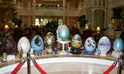 Grand Floridian's Easter Egg Display