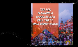 Tips For Planning A Spooktacular Fall Trip to Walt Disney World