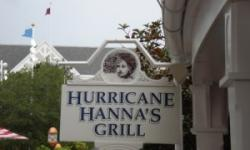 Hurricane Hanna's Grill and Bar at Disney's Yacht & Beach Club