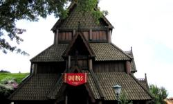 Ride a Viking Ship and Snack on Schoolbread in the Norway Pavilion at Epcot The Norway Pavilion
