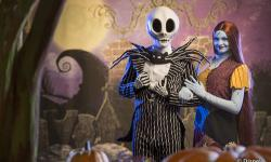 Jack Skellington and Sally Make Their Debut at Mickey's Not-So-Scary Halloween Party