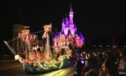 Main Street Electrical Parade Leaving the Magic Kingdom on October 9