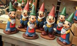 Mickey Mouse Gnomes at the Epcot International Flower and Garden Festival