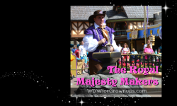 The Magic Kingdom's Royal Majesty Makers
