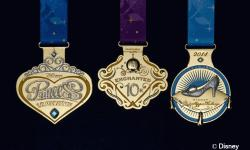 runDisney Releases New Medals for the Princess Half Marathon and the Tinker Bell Half Marathon