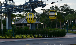 Tips For Riding Disney's Skyliner If You Have A Fear Of Heights