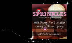 Sprinkles Cupcakes Slated To Open Location At Disney Springs