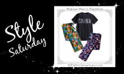 Saturday Style: Marvelous Marvel Pajamas