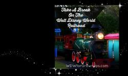 Take A Break On The Walt Disney World Railroad