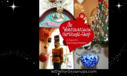 Celebrate Christmas All Year at Die Weihnachts Ecke in Epcot's Germany Pavilion