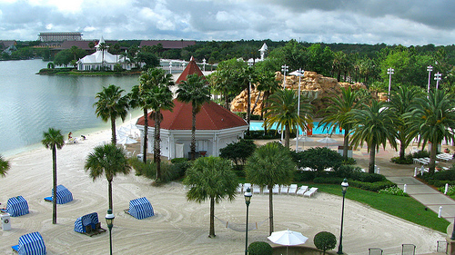 Grand Floridian Resort Pool Bars
