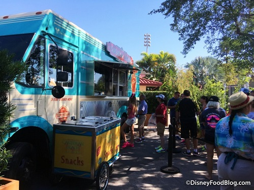 Superstar Catering Food Truck At Disney S Caribbean Beach Resort