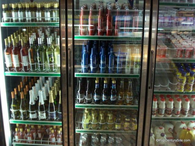 Beer And Wine Cooler At Pop Century