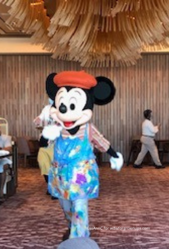 Mickey The Painter