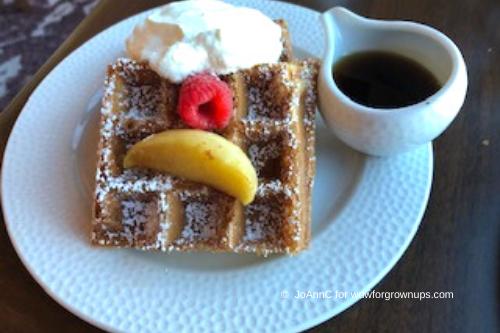 Sour Cream Waffle