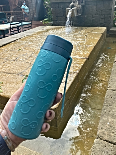 Carry A Water Bottle And Refill It Frequently