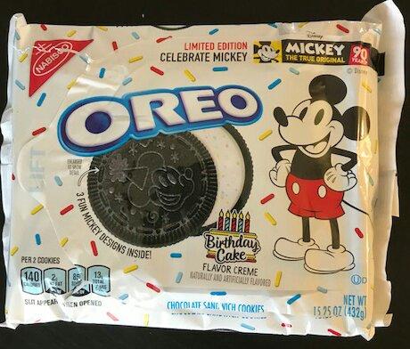 Astounding Icymi Mickey Birthday Cake Oreos Now At Target Walt Disney Personalised Birthday Cards Beptaeletsinfo